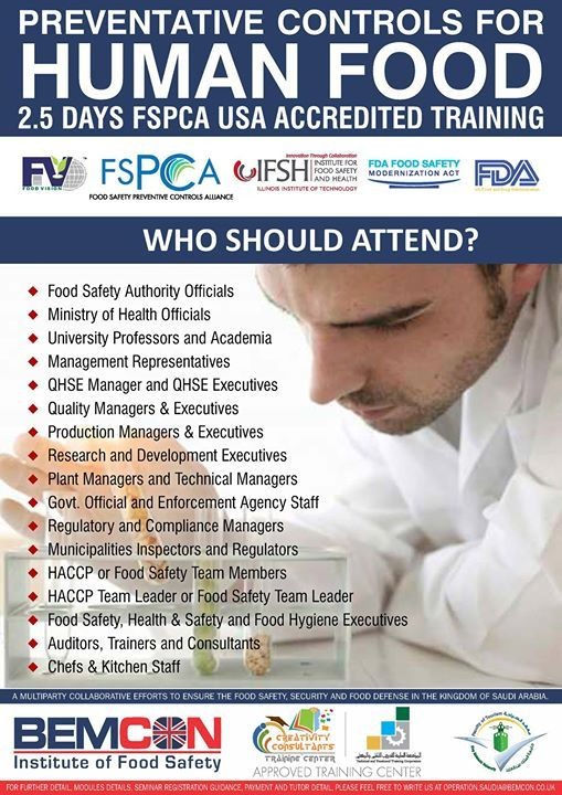 Food Safety Modernization Act Usa Has Changed The Food Safety Approach And Will Be Practiced Soon Safety Management System University Professor Hazard Analysis