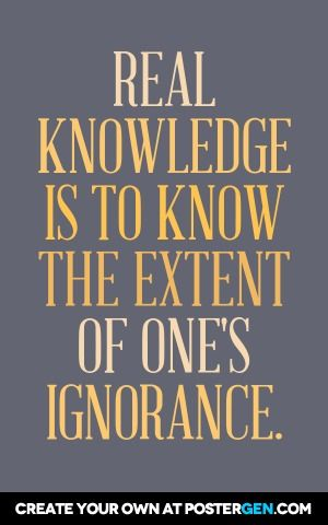 Real Knowledge Print Inspirational Quotes Pinterest Knowledge