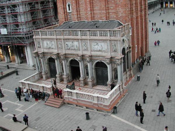 Image result for loggetta del sansovino