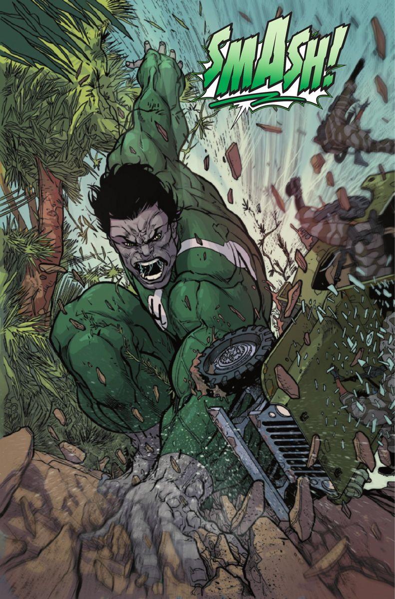 Hulk (Dr. Bruce Banner) (Earth-1610) | art by Carmine Di Giandomenico