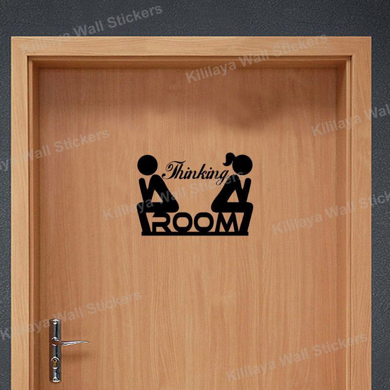 Design A Door Sign toilet door signs restroom signs disabled toilet sign babychangingroom Creative Diy Funny Top Design Toilet Door Sign Sticker 1005 999 Classification