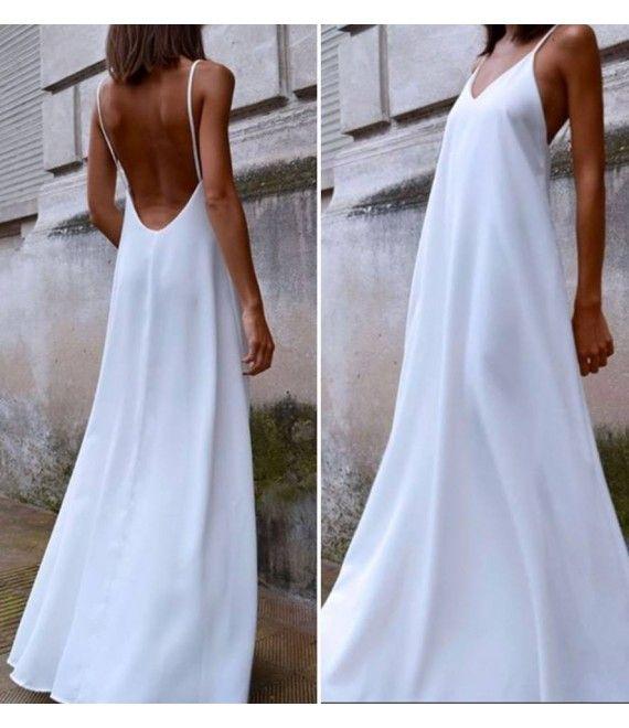 6fead5b9d4af φορεμα μακρυ με εξω πλατη