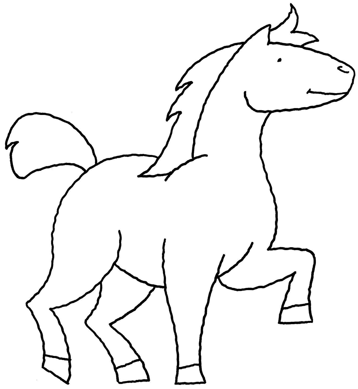 ausmalbilder indianer mit pferd