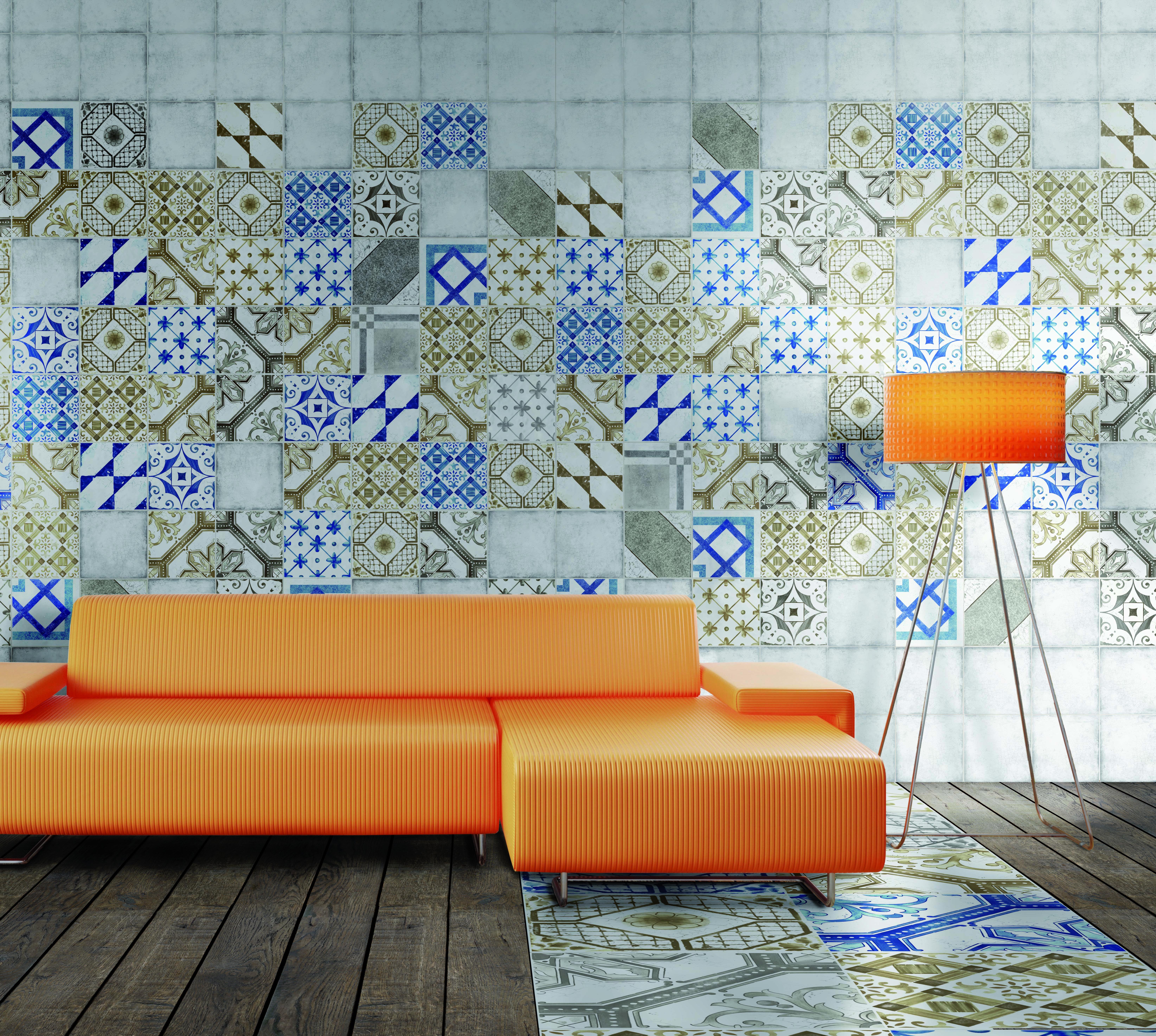 Palladio Blue, Brown Grey Mix from Mandarin Stone. http://www.mandarinstone.com/product/_/573/palladio-blue-mix/?cid=32 #bathroom #tile