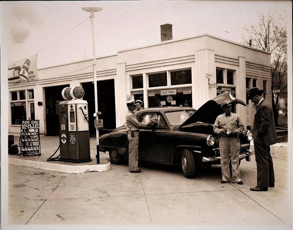 Pin by Nick Cucco on Vintage Service Stations (With images