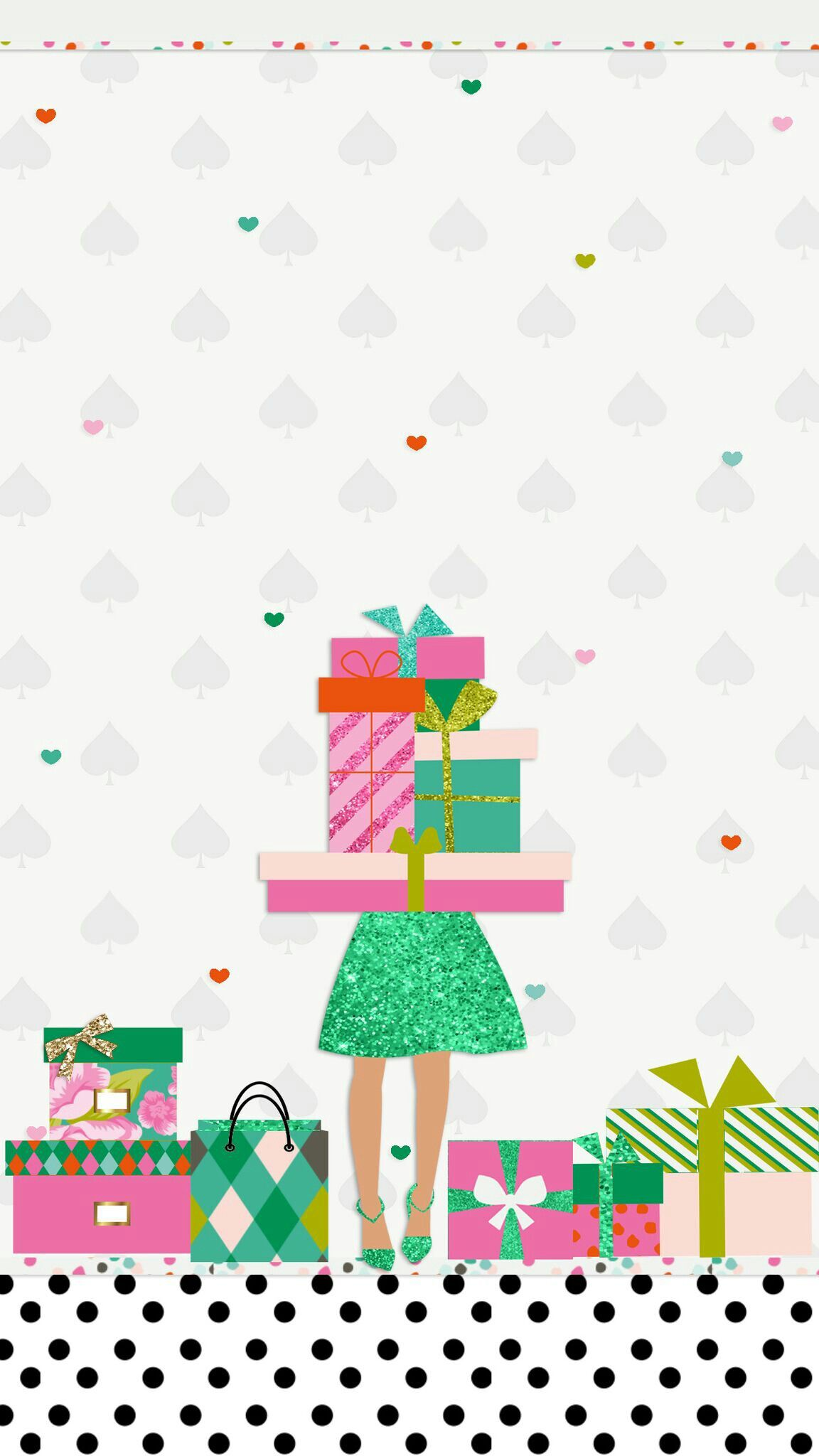 iPhone Wall: Christmas tjn | Kate Spade Inspired in 2018 | Pinterest ...