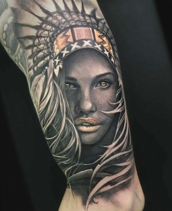 native indian tattoos from tattooton.com