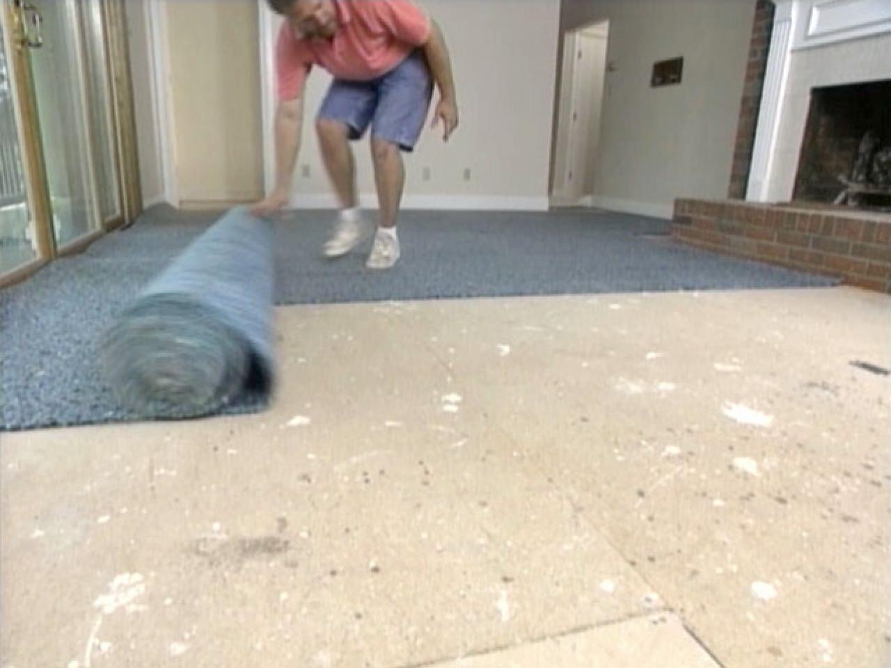 How To Install Carpet Tile On Concrete Floor Flooring Ideas In 2020 Carpet Installation Diy Carpet Basement Carpet