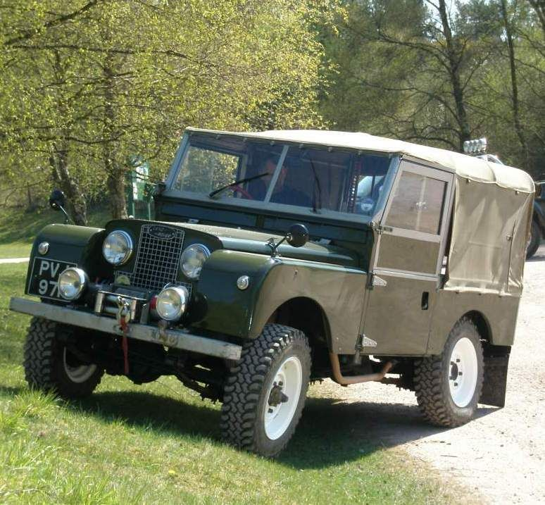 Land Rover 88 Inch Serie One Soft Top Canvas In Classic