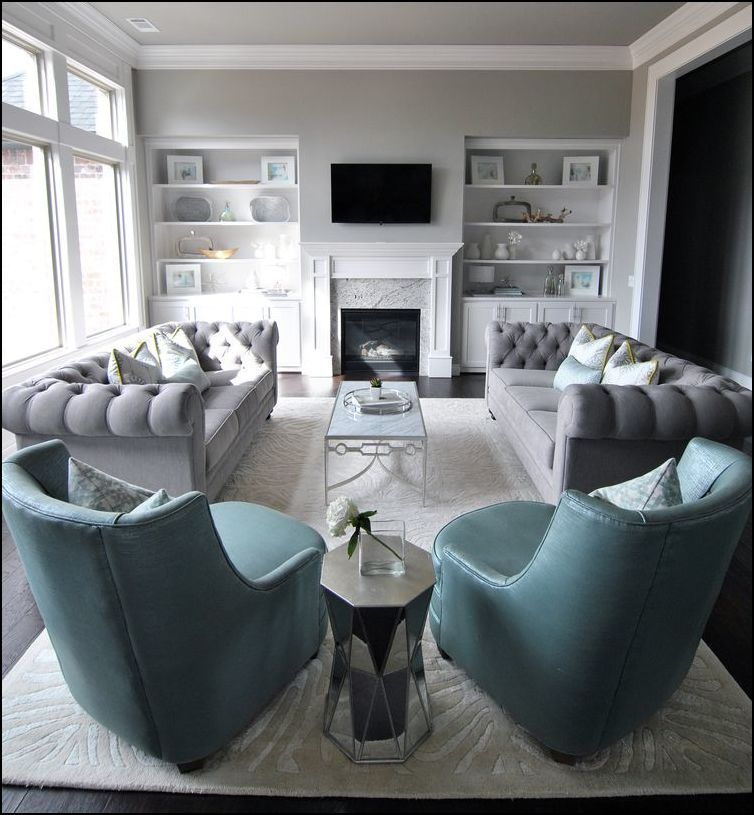 Grey Chesterfield Sofa Living Room Ideas Minimalist Home Ideas In