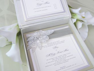 Couture Wedding Invitations And Boutique Boxed Stationery