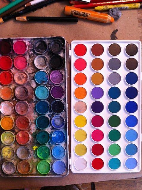 Art Supplies Paint Palette