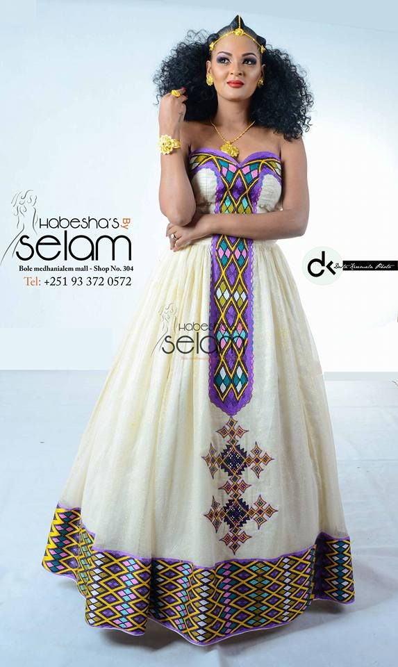 Over the last couple of years we have enjoyed watching for Ethiopian wedding dress designer