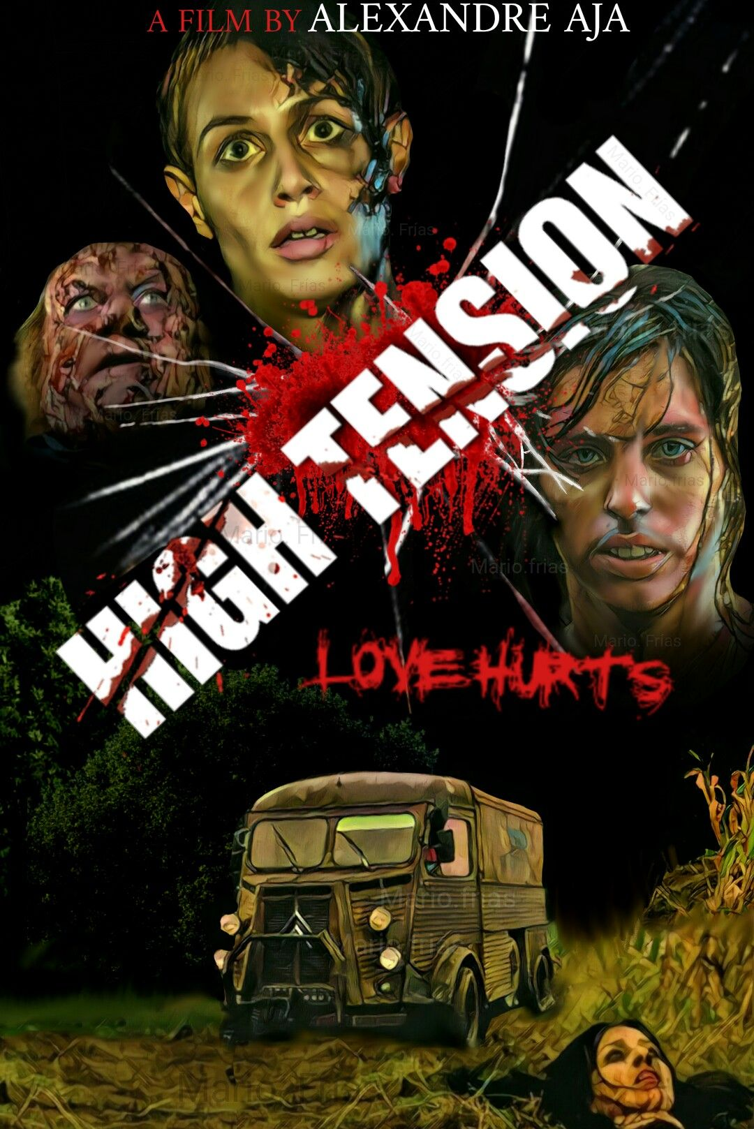 High Tension 2003 Horror Movie Slasher Fan Made Edit MF