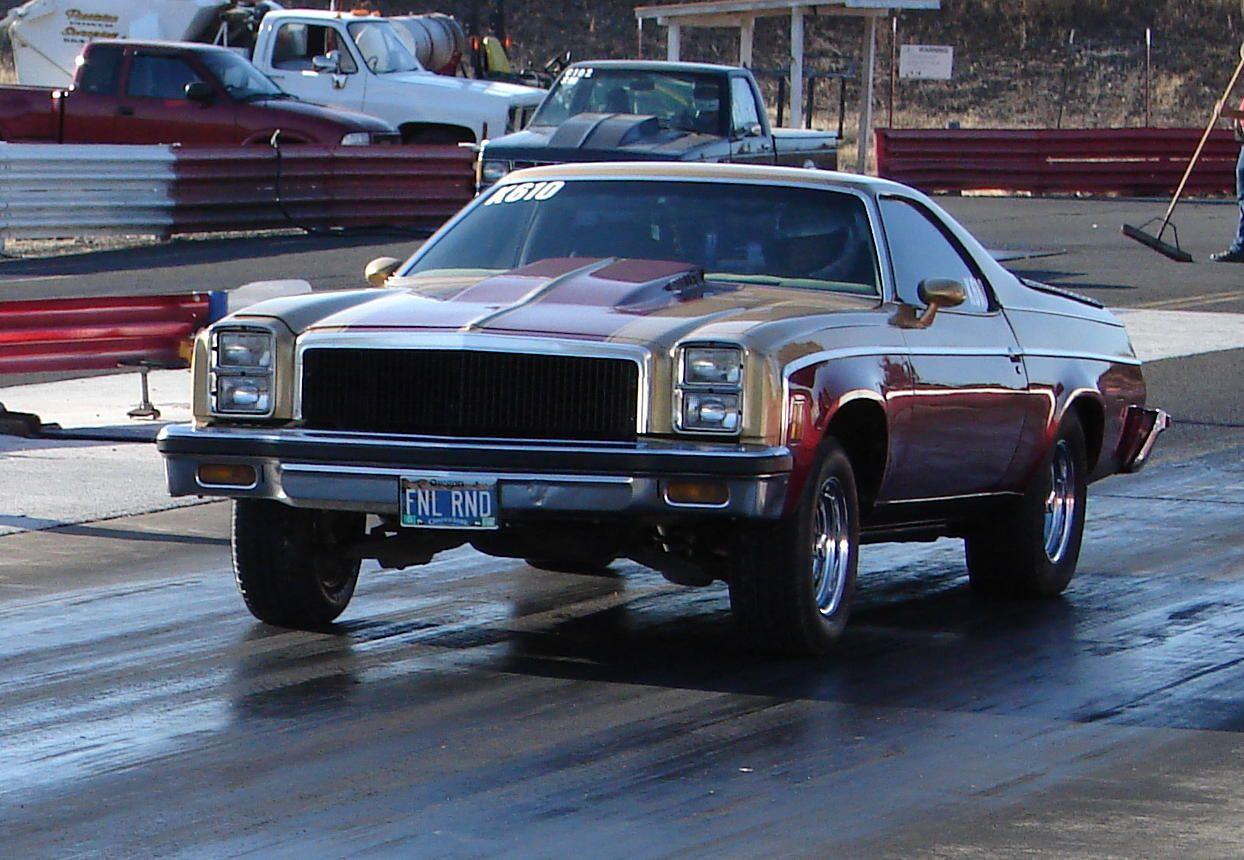 1977 Chevrolet El Camino.