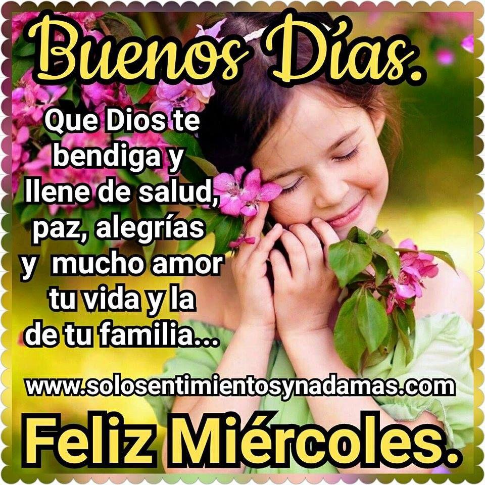Que Dios Te Bendiga Y Llene De Salud Buenos Dias Frases