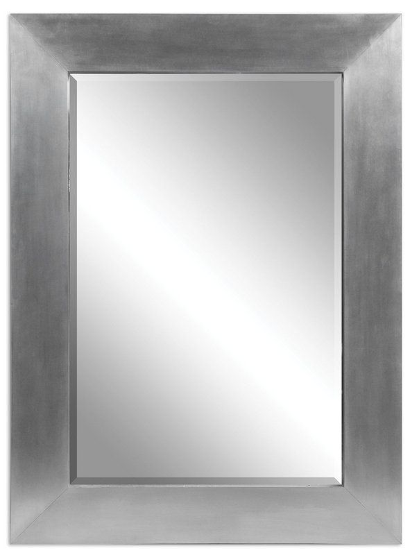 Uttermost 07060 Martel Contemporary Mirror Soft Sheet Aluminum Home Decor Mirrors Lighting Contemporary Mirror Large Wall Mirror Modern Mirror