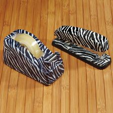 zebra print desk accessories unleash your side with these