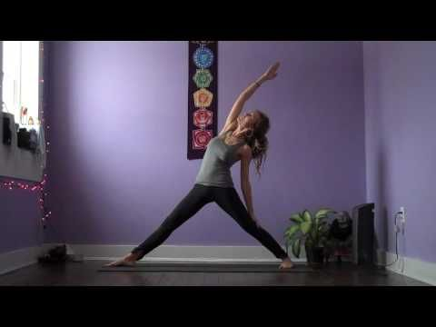 dancing warrior vinyasa  great for the day after an