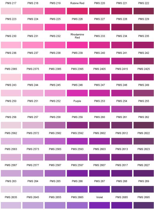 Pantone Colour Chart Color Guides Pinterest Pantone Color