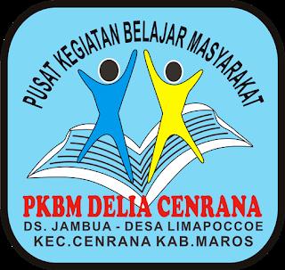 Logo Pkbm Delia Cenrana Belajar