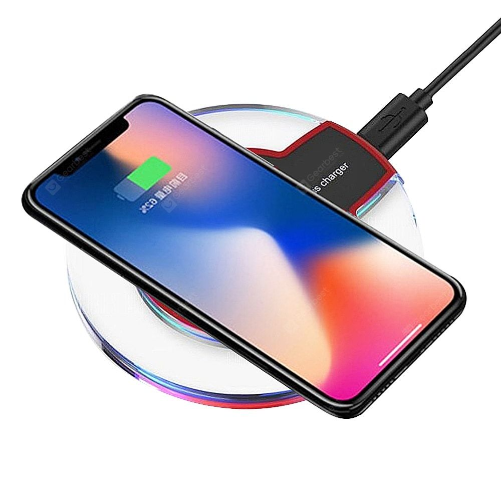 Pin By Geek Heaven Cool Gadgets Mo On Iphone Cables Adapters Wireless Charger Black Charger Iphone Cable
