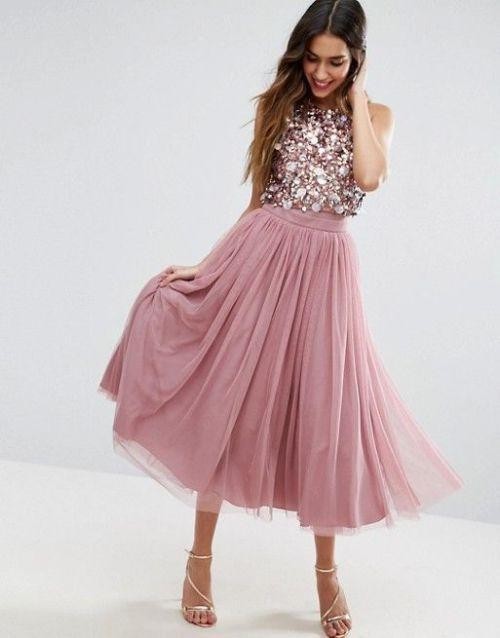 Midi kleider abendmode