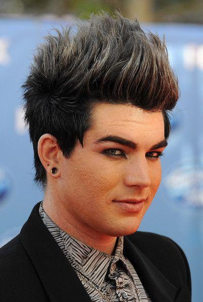 Adam Lambert Photograph Celebrity Style Inspiration Ear Gauges