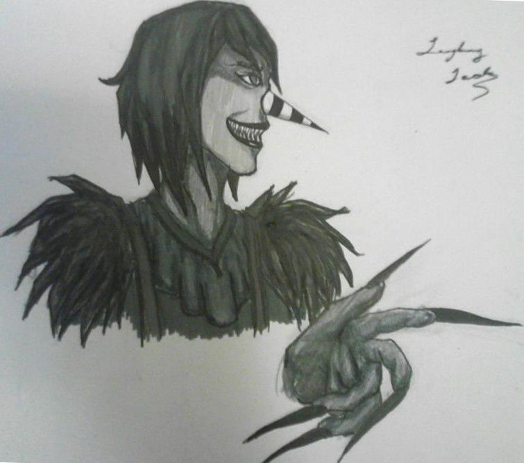 laughing jack drawing - Google Search | Jeffyweffy102 ...