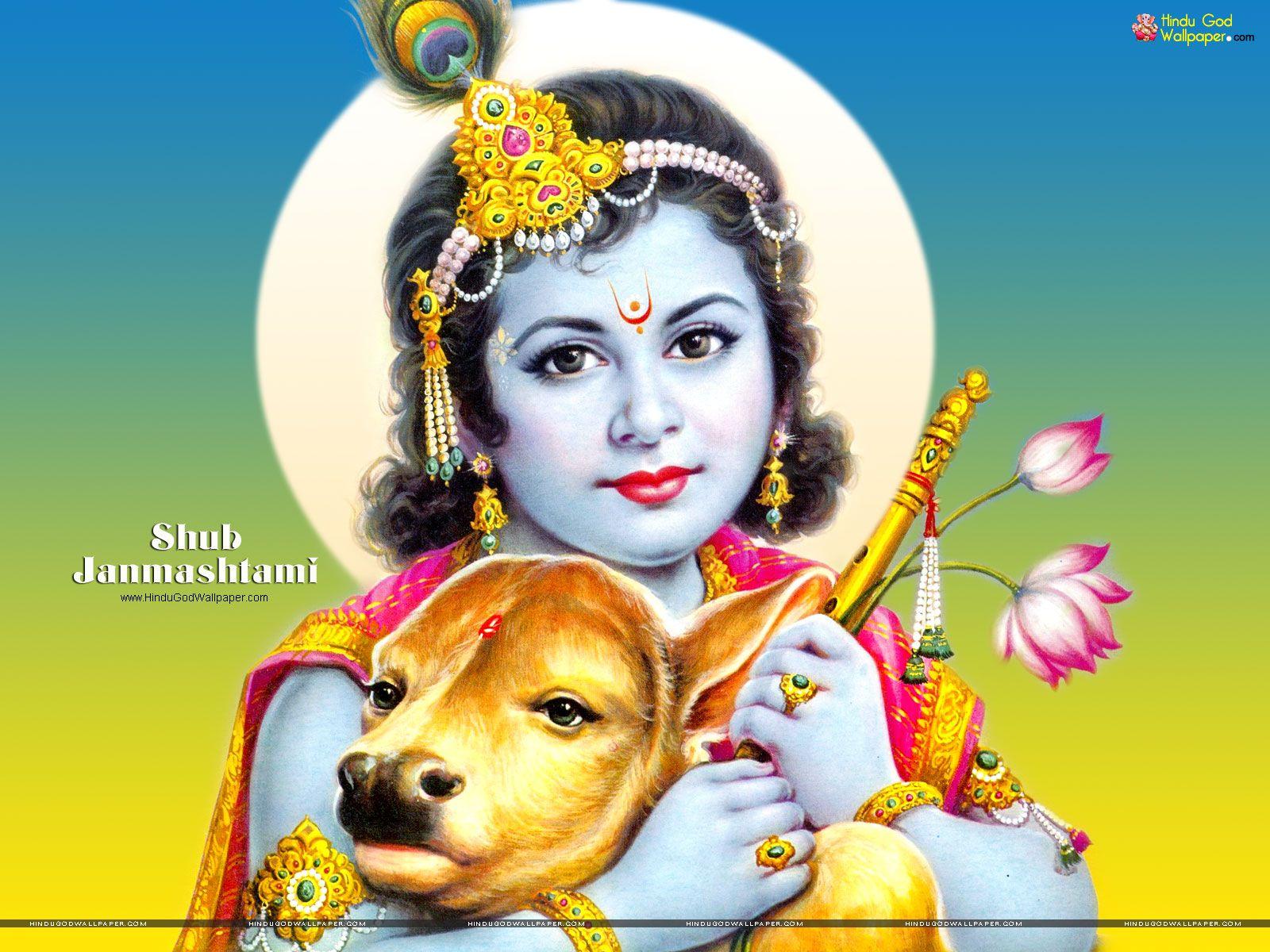 Shri Krishna Janmashtami Wallpapers Free Download Janmashtami