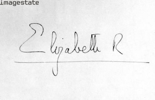 queen elizabeth ii signature handwriting graphology