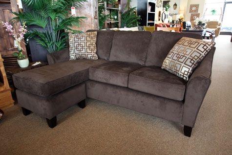 Microfiber Chaise Sofa