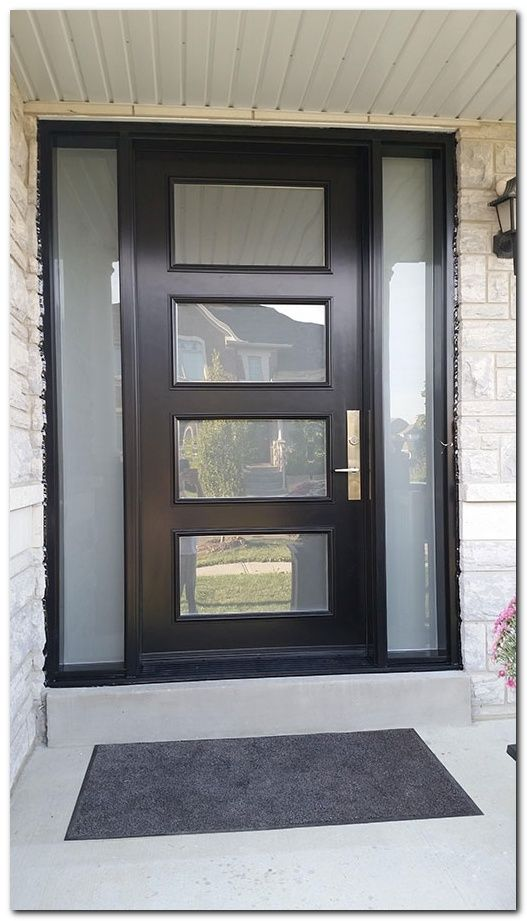 Curb Appeal Modern Front Doors Contemporary Front Doors