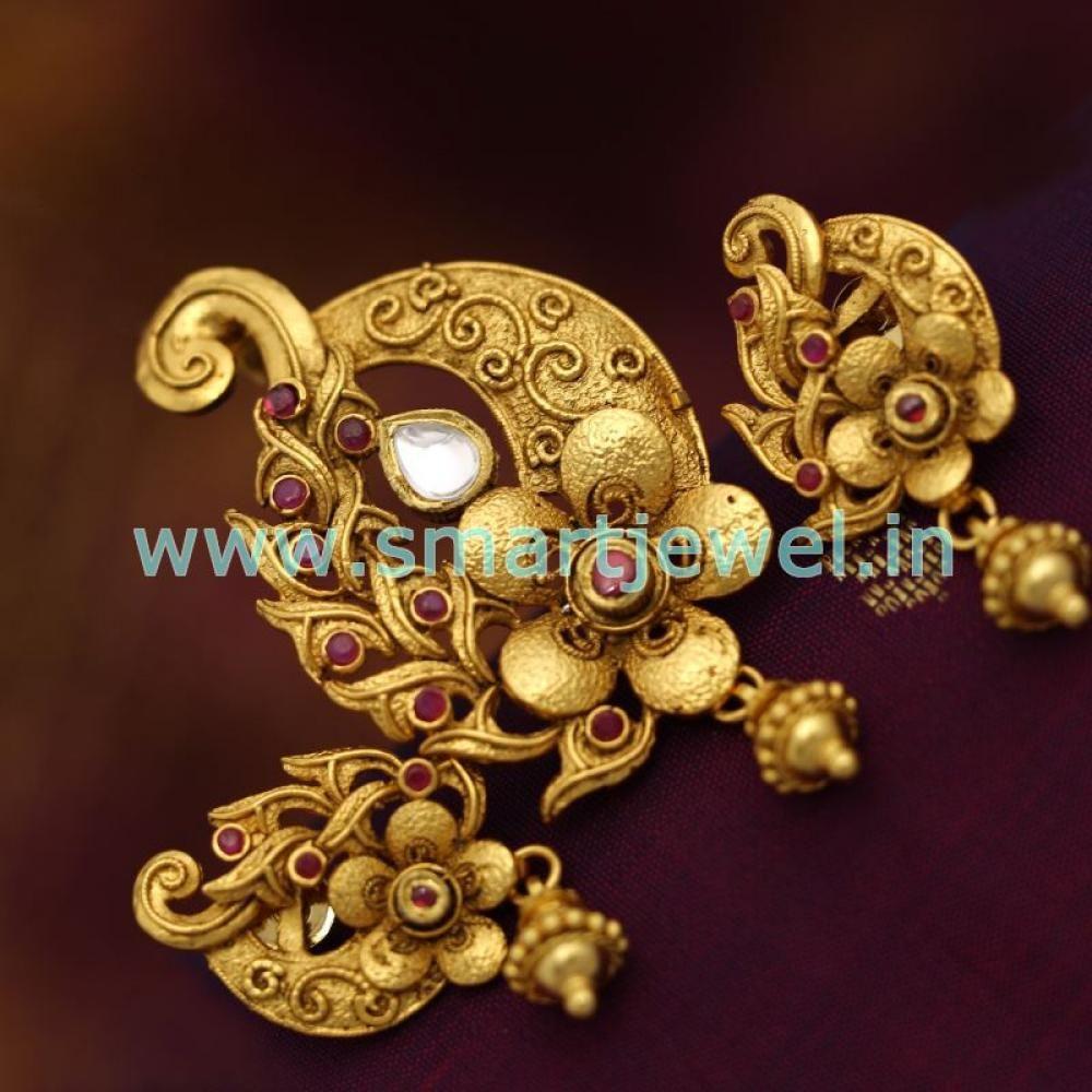 One gram gold pendant set sps6812g 10001000 jewellery one gram gold pendant set sps6812g 1000 aloadofball Image collections