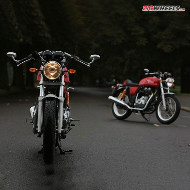 Launching tomorrow: #RoyalEnfield Continental GT! Read about it on ZigWheels.com