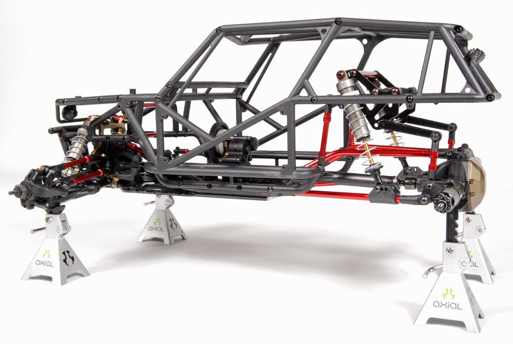 Axial Wraith-Project Wrexo - Hybrid suspension set-up with ...