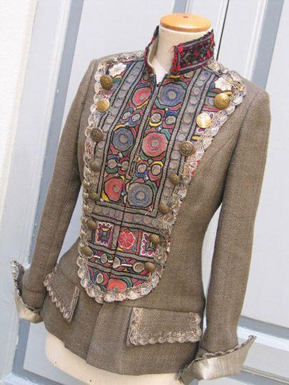 9eed218cd195f24e4da02116d72ccc4f 413x550 182kb patchwork garments pinterest couture. Black Bedroom Furniture Sets. Home Design Ideas