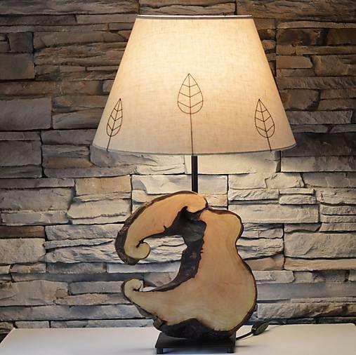 Wood / Lampa Walnut V.