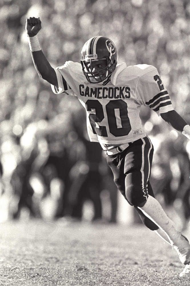 South Carolina Gamecocks DB 20 Bryant Mookie Gillard 1982 1984