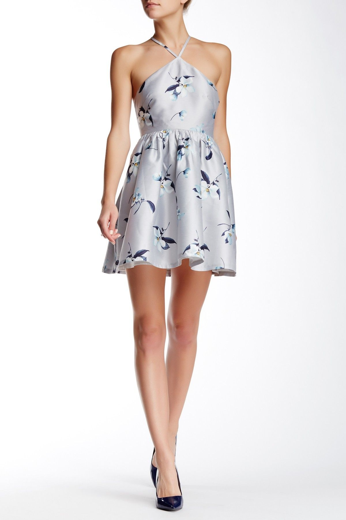 Floral print wedding dresses  Floral Print Dress by LuAtiste on HauteLook  Wedding Attire