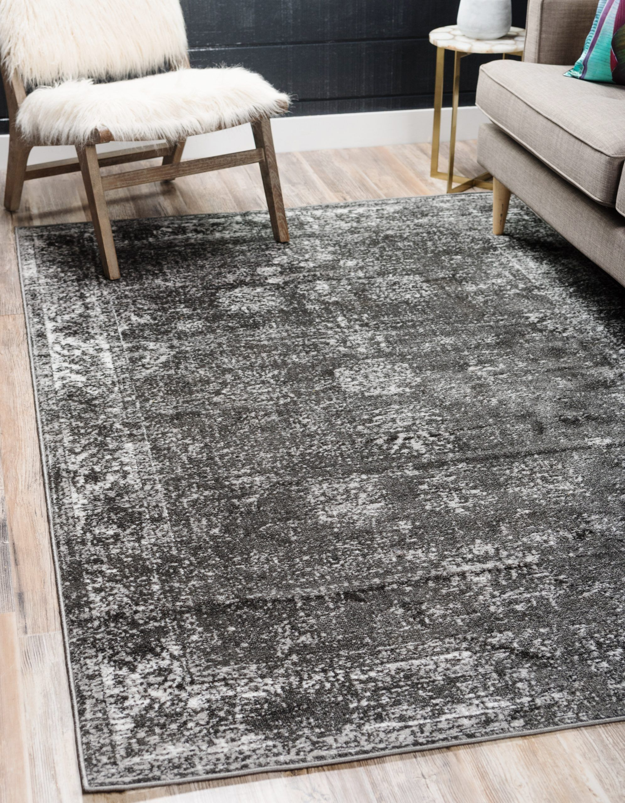 10 Insanely Beautiful Gray Living Room Rugs In 2020 Unique Loom