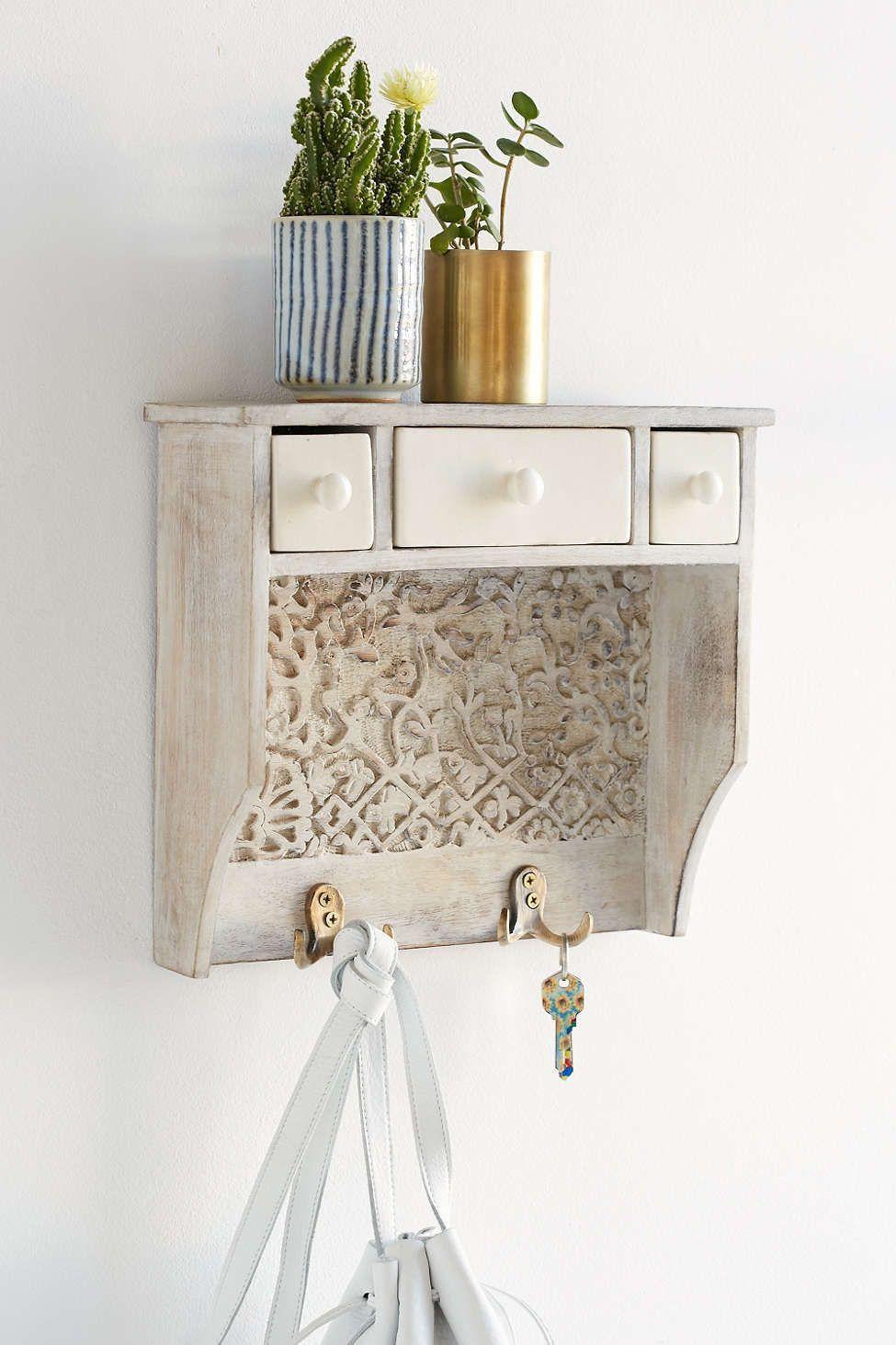 Storage ideas for hallway  Entryway Vessels To Catch All Your Stuff  Hallway Storage Ideas