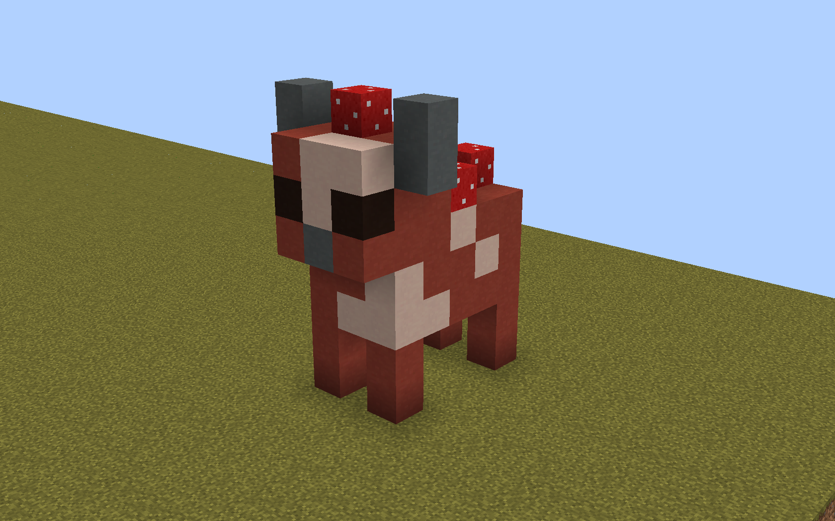 How To Make A Cute Dog Statue In Minecraft
