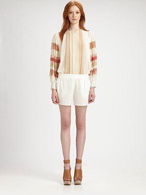 Pleats, great blouse!!!