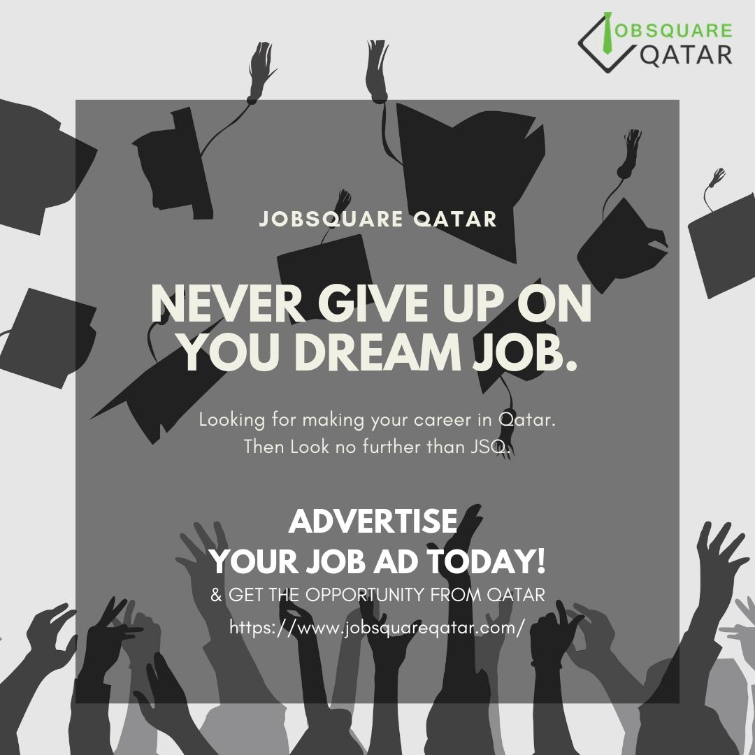 Advertise with #JSQ never let your dream job remain the