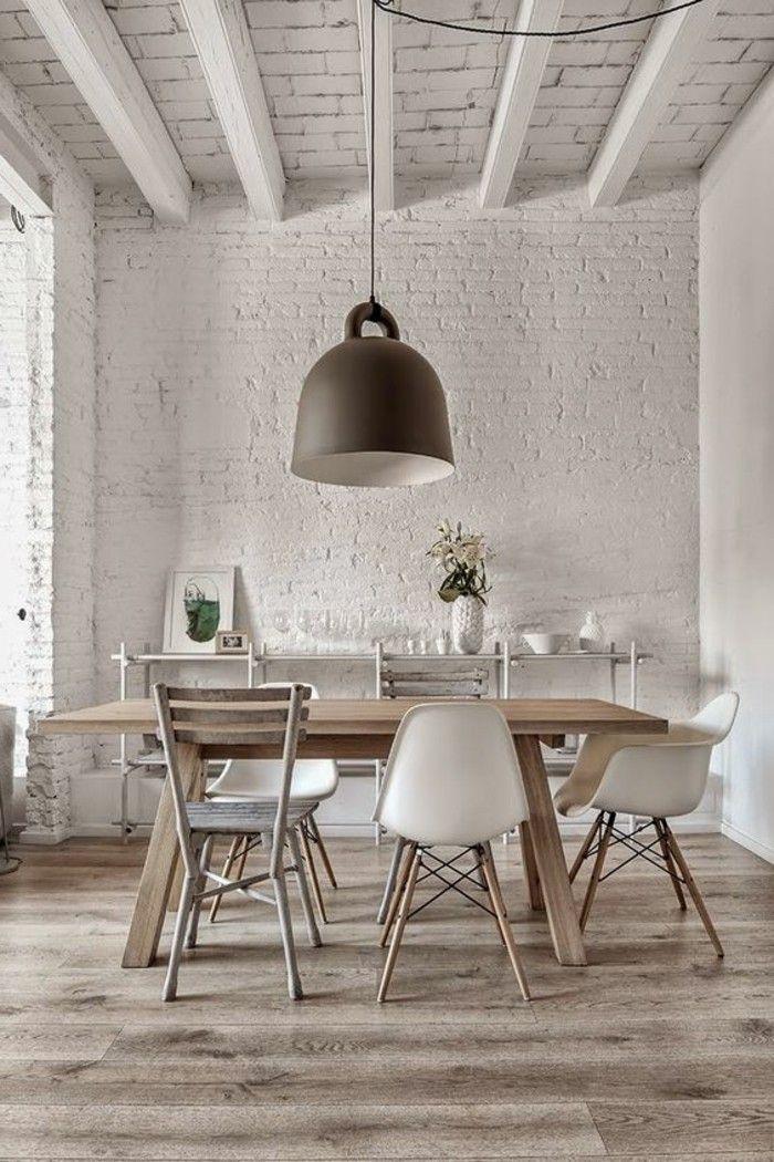 La meilleure table de salle manger design en 42 photos - Treteaux pour table salle manger ...