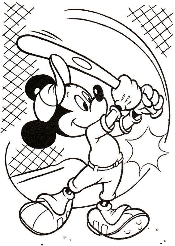 Disney Målarbilder för barn. Teckningar online till skriv ut. Nº 158 ...