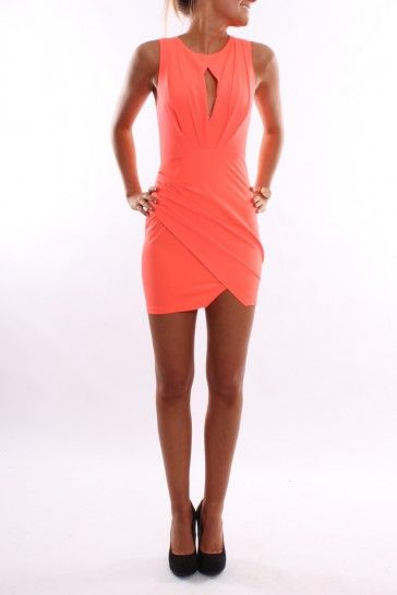 Goddess Dress Coral - Dresses - Shop by Product - Womens