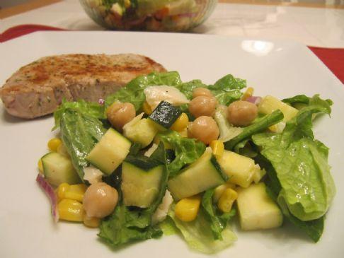 Three Sisters Salad Native American Dish Recipe Indian Food
