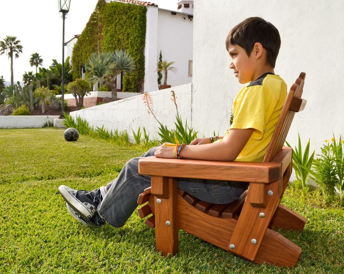 Attractive Wood Project  Extra Large Adirondack Chair Plans